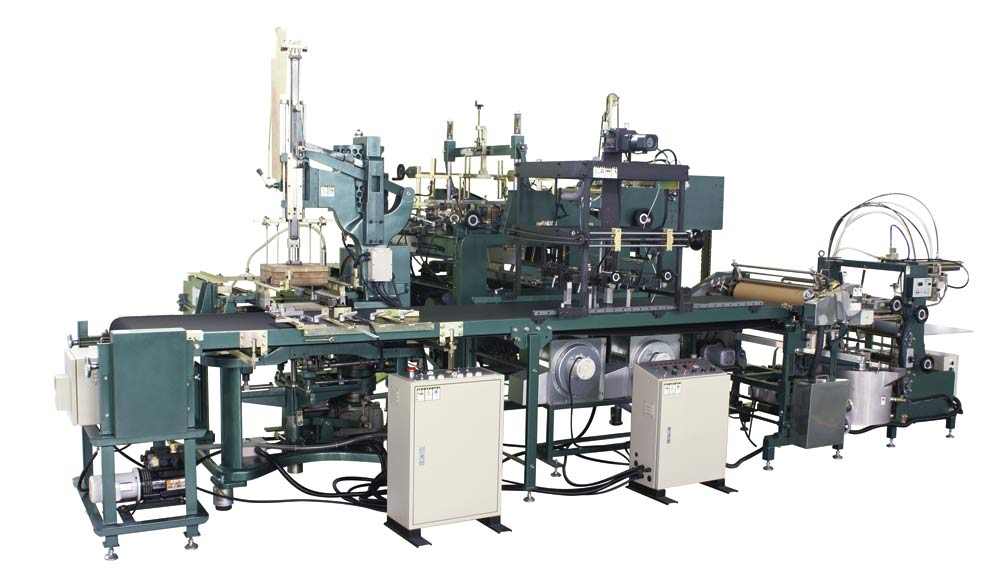 BH-503- is applicable to automatic box production line